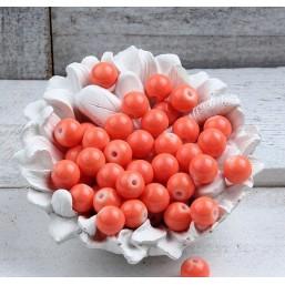 Glaskraal oranje 7mm