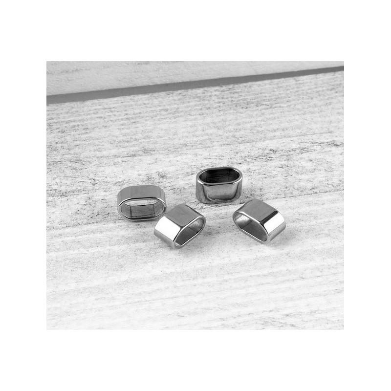 RVS Leerschuif (11x5.5mm)