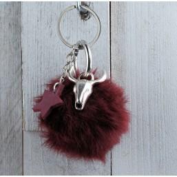 Sleutel/Tashanger Buffelkop Sleutel/Tashangers