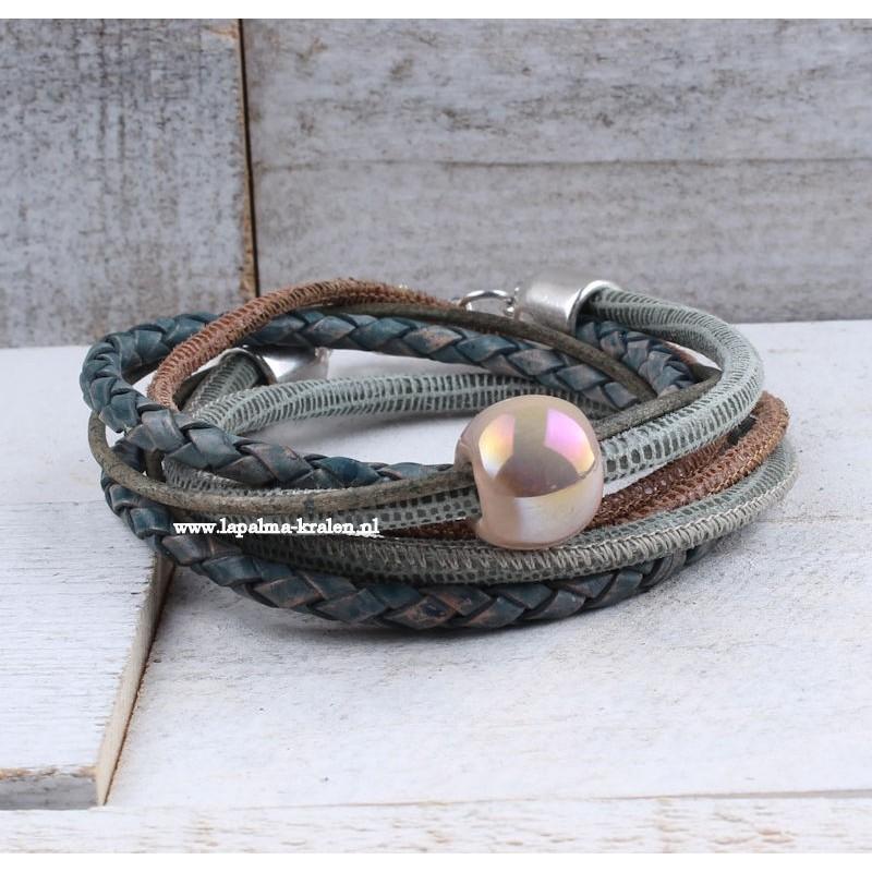 Wikkelarmband met Keramiek Dames armbanden