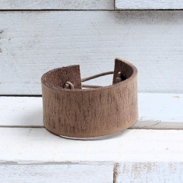 Vintage armband Taupe AB16 Home