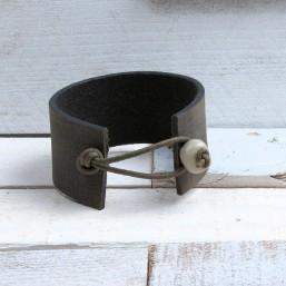 Vintage armband Groen/Zwart AB15 Home