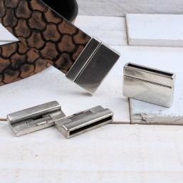 DQ metaal magneetsluiting (30x2.7mm) DQ793 DQ Magneetsluitingen