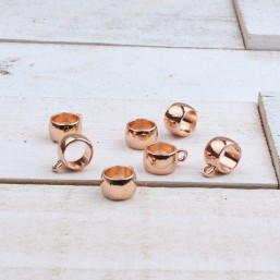 Hanger met oogje Rose Gold (8mm)MER07 Hanger met oogje