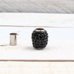Magneetsluiting Shamballa Zwart 6mm ME728