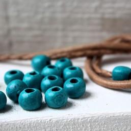 Keramiek kraal Turquoise 8mmDGK46 Keramiek Kraal mat