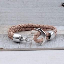 Heren armband met Anker INSPIRATIE Heren armbanden