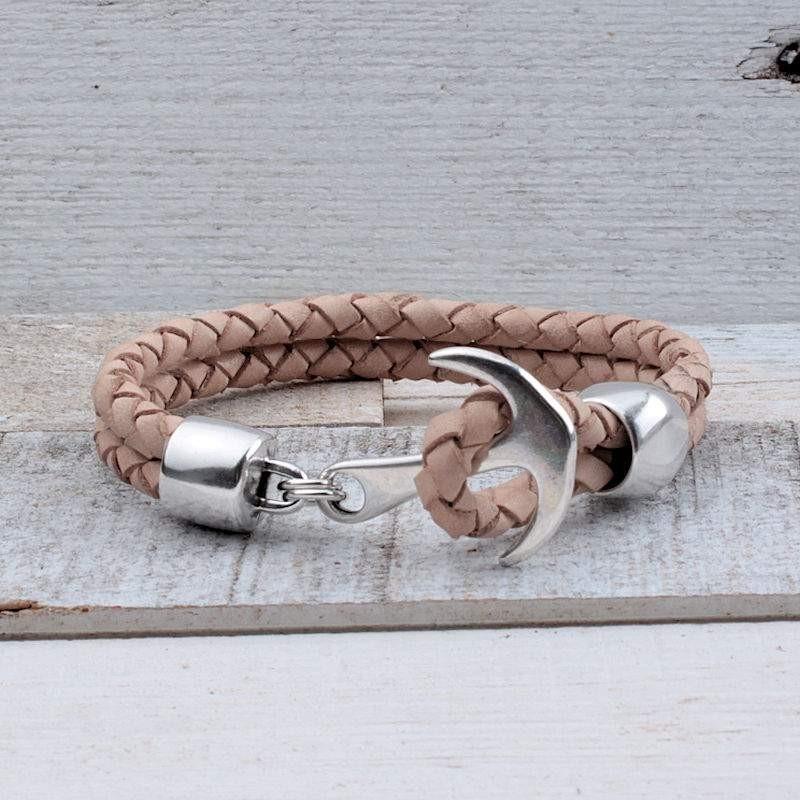 Heren armband met AnkerInspiratie Heren armbanden