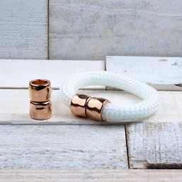 DQ metaal magneetsluiting Rose Goud (14x11mm)DQR63 SALE!!! DQ metaal Rosé Gold/Goud