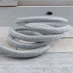 TJLLZZ nylon koord Zilver Metal Grey 10mm TK17 TJLLZZ koord 10mm