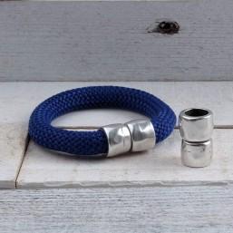 DQ metaal magneetsluiting Antiek Zilver (10mm) DQ561 DQ Magneetsluitingen