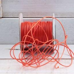 Waxkoord Oranje 1mm WA44 Waxkoord 1.0mm