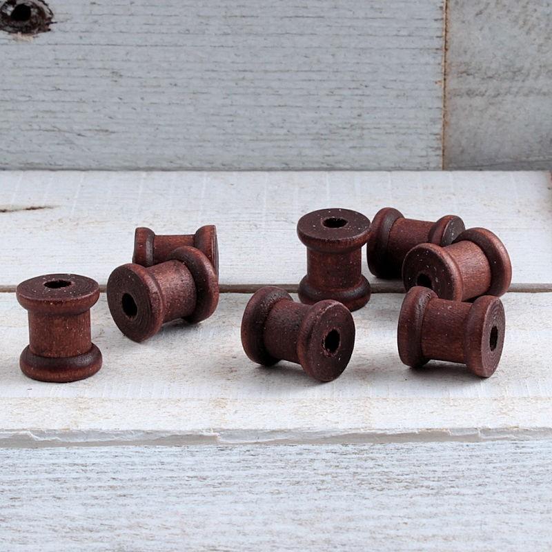 Mini klosje hout 12x14mm HOU03