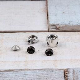 Preciosa Maxima puntsteen SS29 Black Diamond PP28