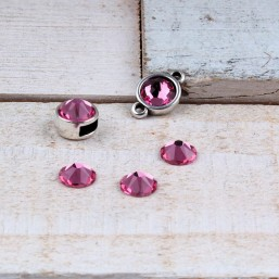 Swarovski SS34 (7mm) Rose SW31