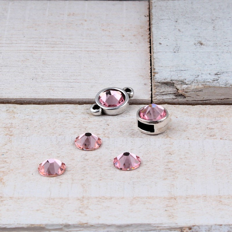 Swarovski SS34 (7mm) Light Rose SW05