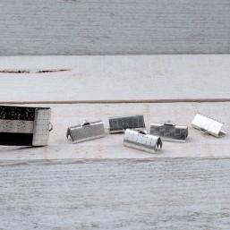 DQ metaal Lintklem 15mm DQ693 Veter-Lintklemmen