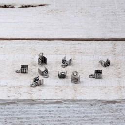 DQ metaal Veterklem 3mm DQ495 Veter-Lintklemmen