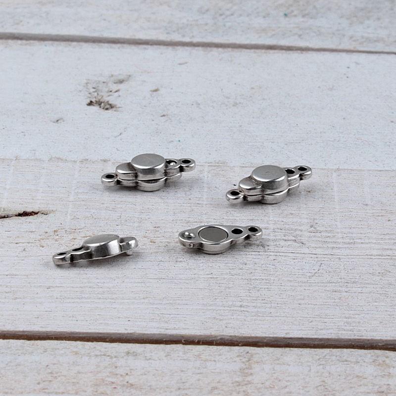 DQ metaal magneetsluiting (17x7mm)DQ784 Magneetsluitingen