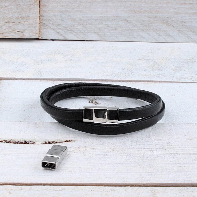 RVS magneetsluiting (6.5x2.5mm) ME709