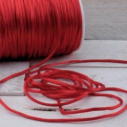 Satijnkoord Rood 2mm ZK34