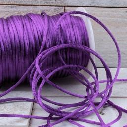 Satijnkoord Purple 2mm ZK38