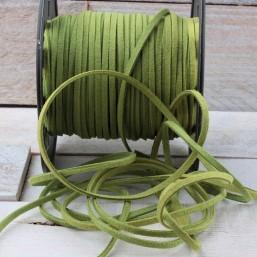 Suede veter groen SV20 Suede Uni kleuren