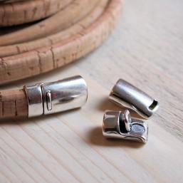 DQ metaal magneetsluiting voor regaliz (10.2x7.3mm) DQ966