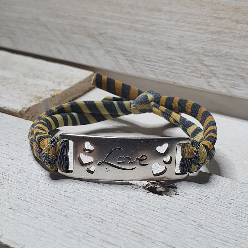 INSPIRATIE Armband Tijger Ibiza INSPIRATIE Dames armbanden