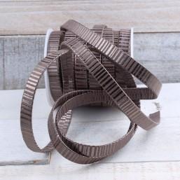 Plat leer Spiral Style 10mm EL15 Plat leer met motief