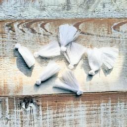 Kwastje Wit 25mm KW52 Kwastjes