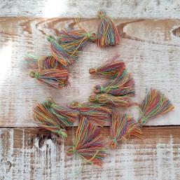 Kwastje Multicolor Groen 25mm KW53 Kwastjes