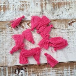 Kwastje Roze/Fuchsia 25mm KW79 Kwastjes